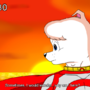 Omega dog fanmade anime art