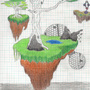 Levitating islands by Doomroar
