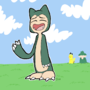 Skinny Snorlax by limeslimed