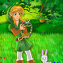 Oracle of Ages Link by mistydawn132