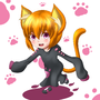 Kitty catgirl by Jcdr
