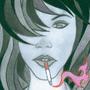 Cigarette Girl #13