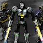 Alien Trio by TrojanMan87