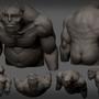 Daniel the sad ogre by MiddleFingerRings