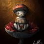 Mushroom Sprite by Artist-Lost