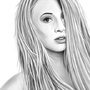 Lottie Talbot Realism Drawing by TheLoyalMeat