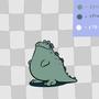 Godzilla Jr. by Soapmonster