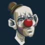 Sad Clown by mefesto