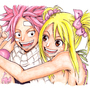 Natsu and Lucy by oroy2041