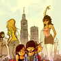 ladies in the city by Daagah