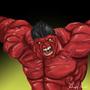 Red Hulk by gregoryjramos