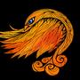 autumn bird by Stepnoy