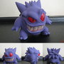 Stylized Gengar Sculpture by Mario644