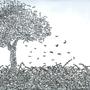 Word Tree 1 by Erasthamus