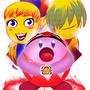 Kirby- Red power ranger by kiareri