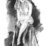 Figure Drawing by Luciaea