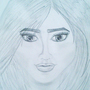 Lily Collins (Drawing)