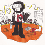 tankman zombie by OHMYGODNESSMYUNCLE