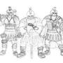 Dwarf-Sketch