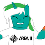 My pony wearing a Area11 shirt by DerpRewind