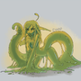 Slime girl by Cenaf