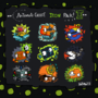 'Antenna-Cheese Icon Pack II' by Butzbo