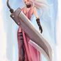 Big sword woman by FASSLAYER