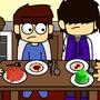 Dinner time by BinkToons