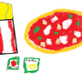 Pizza chips and ... (Paint) by Lugiminecraft