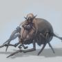 Spider girl by Cenaf