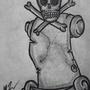 Name Scroll Tattoo by GabrielNovakStudios
