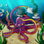 Dapper Octopus by Ktullanyx