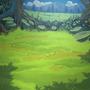 Grassy Battleground by Hyptosis