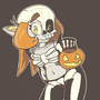 Spooky Sola Skeleton by Domobot
