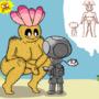 Pokey Babe by Nintendoart