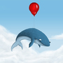 Fly a whale