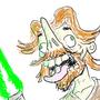 Jedi Self Portrait by pontyfaxjr