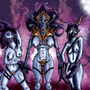Eyes of the Gods-Daemonettes by kalabor106