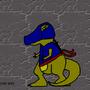 Dinosaur Ninja by fastal12147