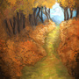 Forest path by Jaona