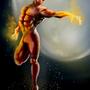 Flaming Red Hero? by AkiRahmat