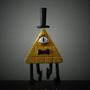 Bill Cipher Sculpture by Mario644
