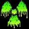 Radioactive melt