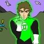 A Random Green Lantern by attsnor