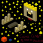 Cosmic Candy Cube Design
