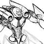 Giga Buster WIP by Shadowblackfox