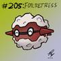 205-Forretress by badloom888