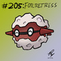 205-Forretress by badloom888