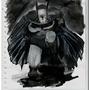 Rough Batman prelim by Wittxxx