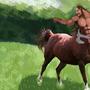 Centaur Warrior by AXISunSoar